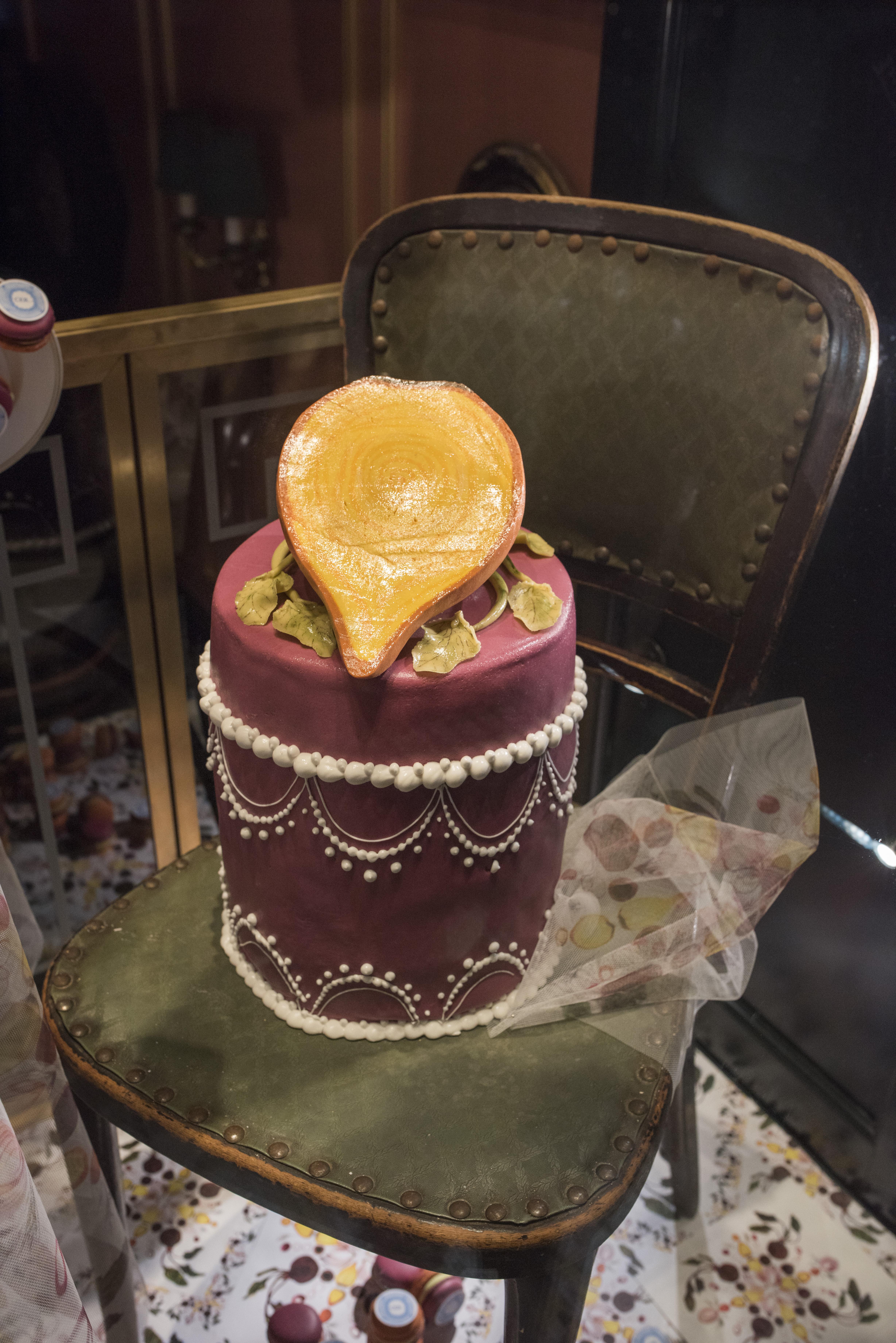 Yellow Beetroot Cake