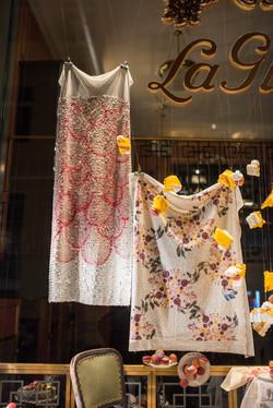 Radish & Picnic Sequins Textile Design