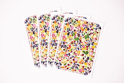 Beta-Carotene Greeting Cards
