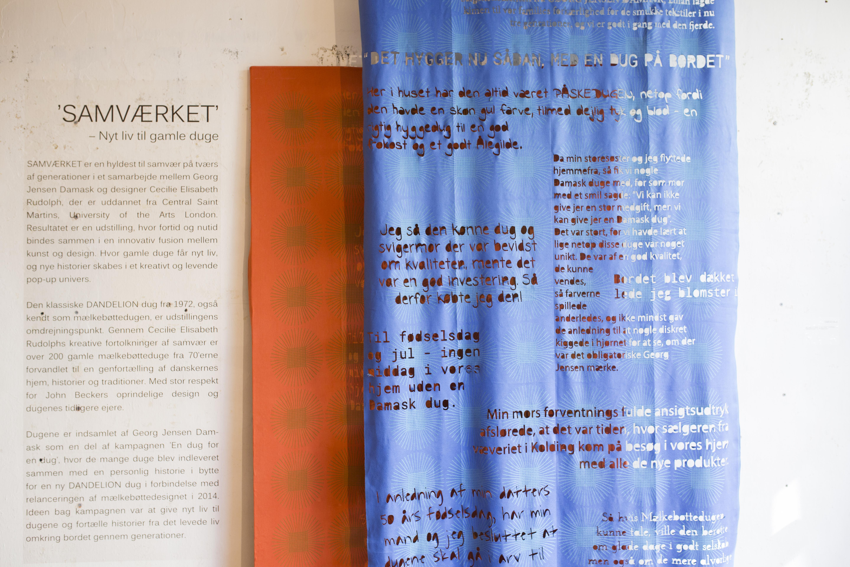 Samværket - Georg Jensen Damask