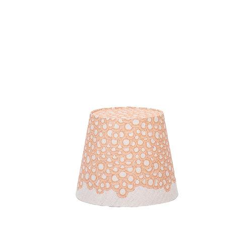 Petite Lace Lamp Shade Nature (orange)