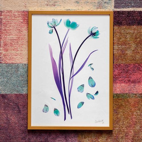 Tulipa (Diamond) Framed Artwork