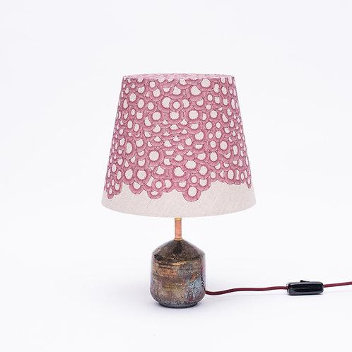 Petit Lace Lamp Nature No. 7 (bordeaux) small