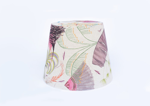 Exclusive Lamp Shade With CabarElle Print Made By Cecilie Elisabeth Rudolph All The Motifs In Are Hand Using Various Drawing And