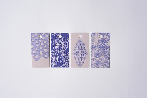 Lace Gift Tags 4 pieces