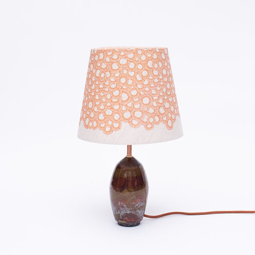 Petit Lace Lamp Nature No. 9 (orange) small