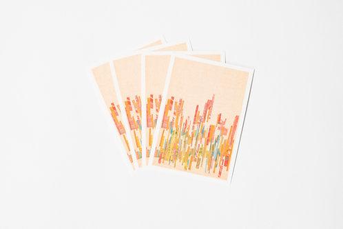 Mikado Greeting Cards