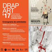 Drap art 17. Centro cultural Recoleta. 2017