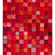 Mosaico rojo.