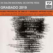 XX Salon Nacional de Entre Rios. Museo Artemio Alisio. 2019
