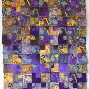 Mosaico violeta