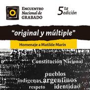 V Encuentro Nacional de Grabado. 2019