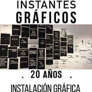 Instalacion Grafica. iG 20 años 2019.