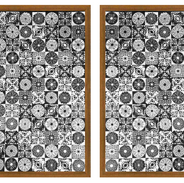 Mosaico Negro. Diptico