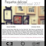 Pequeñas delicias. Art&desing Gallery. Miami. 2017