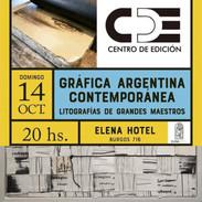 Grafica contemporanea. Oct. 2018
