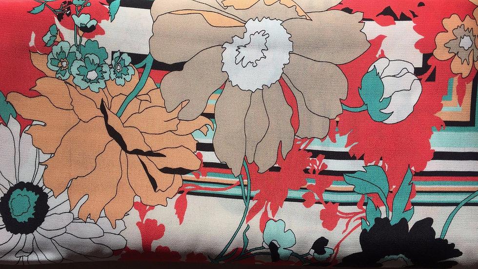 Max Mara Viskose Blumen