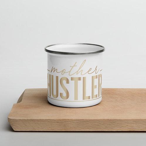 Mother Hustler Enamel Mug