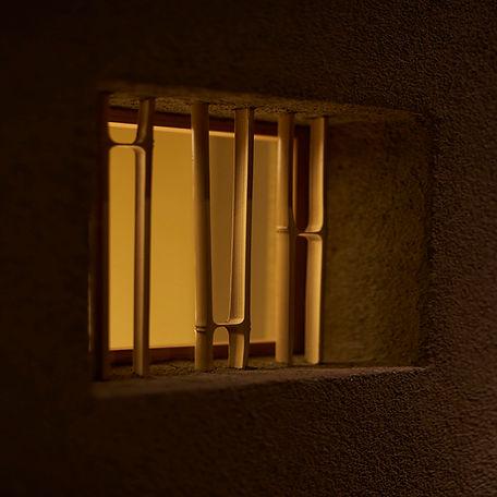 竹小窓、カウンター席、飾り処、竹平割