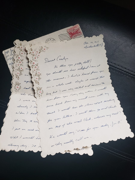 One of Joe's Actual Letters