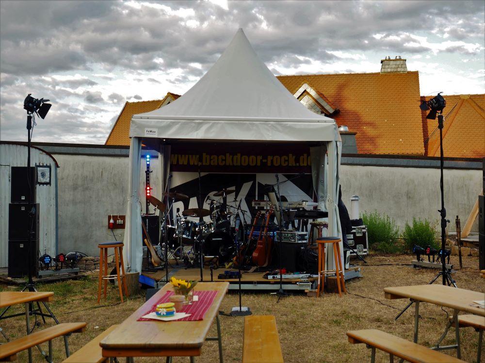 Event auf der Open Air Wiese