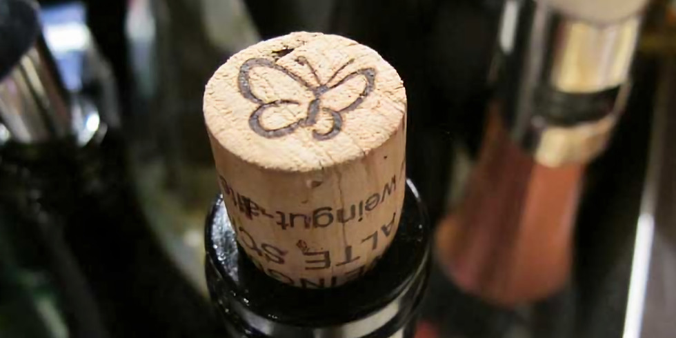 Offene Weinpräsentation