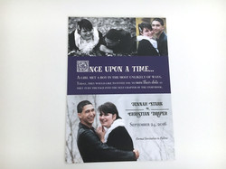 Story Book Save The Date