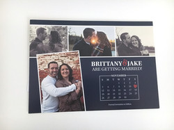 Calendar Style Save the Date