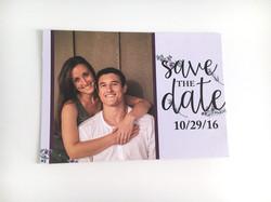 Greenery Save the date