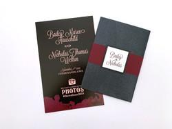 Short Vertical Wedding Program