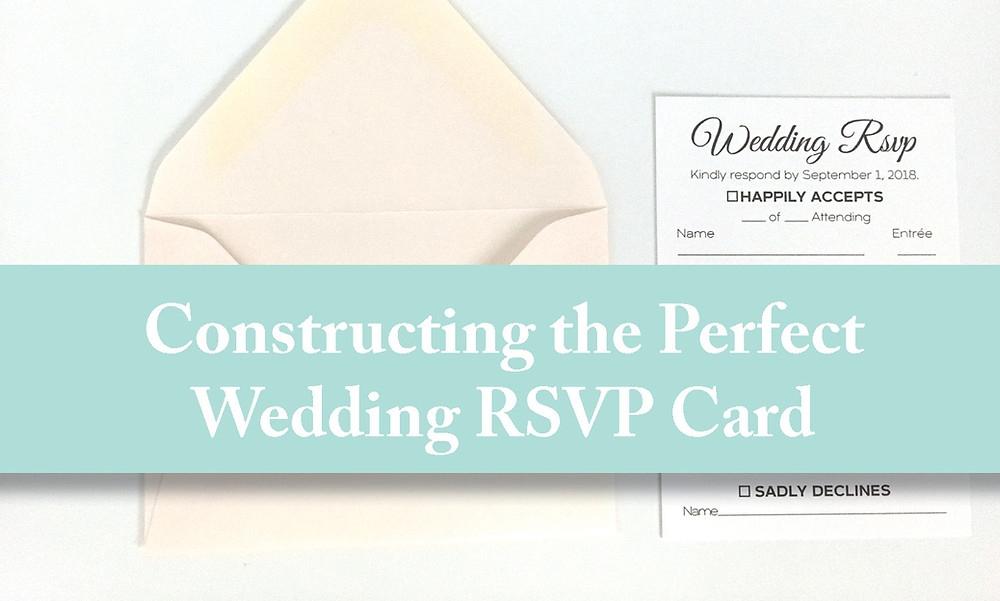 construction the perfect wedding rsvp Card - Iowa Wedding Invitations, response card, reply card, cedar rapids Iowa wedding, Dubuque Iowa wedding