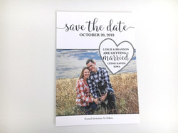 Simple Heart Save the Date