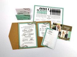 Mint To Be Invitation Sutie