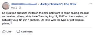 How to avoid Wedding Invitation Errors Cedar Rapids Iowa