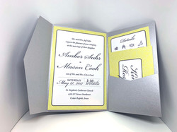 Yellow & Gray - Colors of the Year! Invitation Suite
