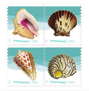 Postcard Stamp - Wedding Invitation Stamps, Cedar Rapids Iowa, EmDesign