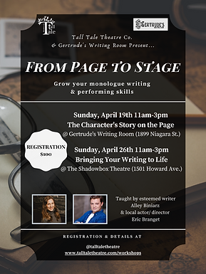 Page To Stage - Workshop Poster.png