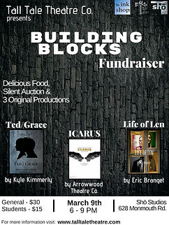 Building Blocks Fundraiser High Quality.