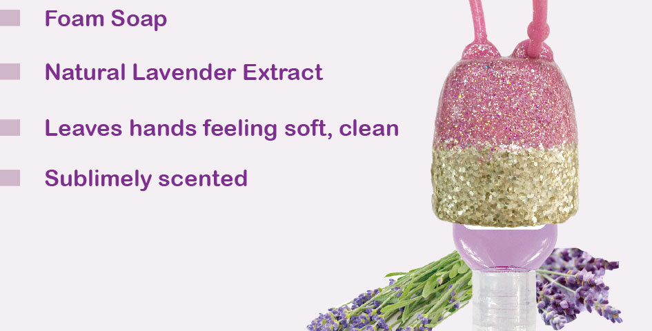 99point9 Lavender Hand Soap (silicone set)