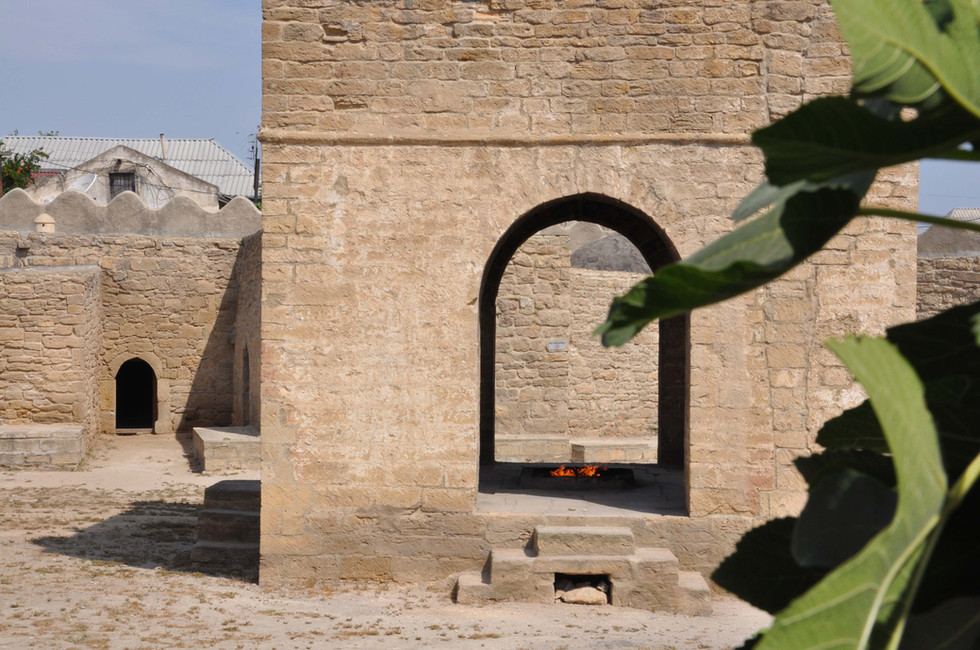 Temple of fire, Azerbaijan