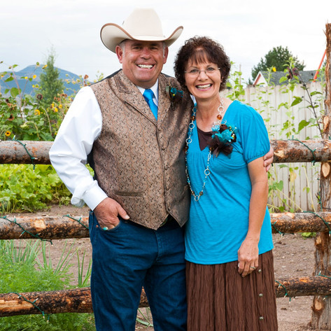 Francine & Gary Hallows Broken Spur/Saddlery Owners