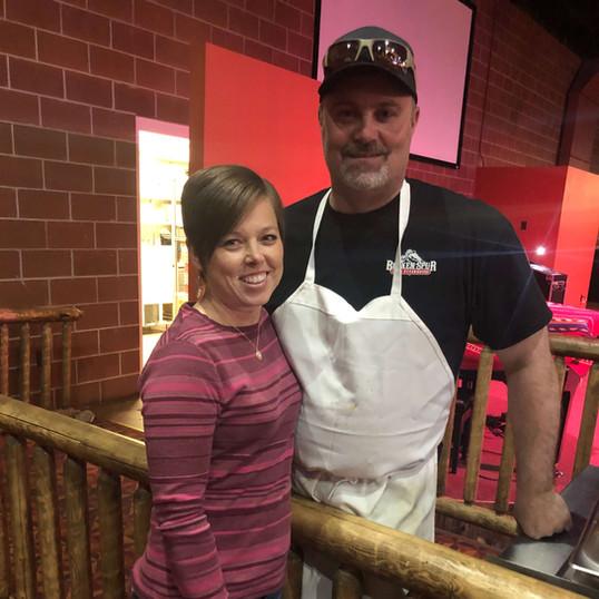 Travis and Holly- Saddlery Cowboy Bar &