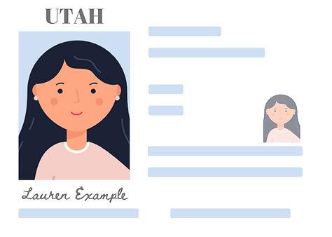 UTAH Front license example.jpg