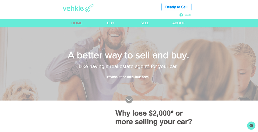 Vehkle Websit design