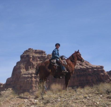 Francine Hallows, Torrey, Utah