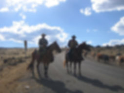 Travis and Gary-Saddlery cowboy Bar & St