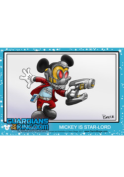 1 A Starlord Card Hor