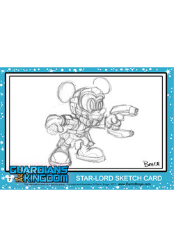 7 A Starlord SKETCH Card Hor