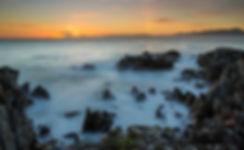 Zonsondergang bij Gansbaai