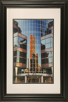 Rosslyn Reflection (26x20 Framed)